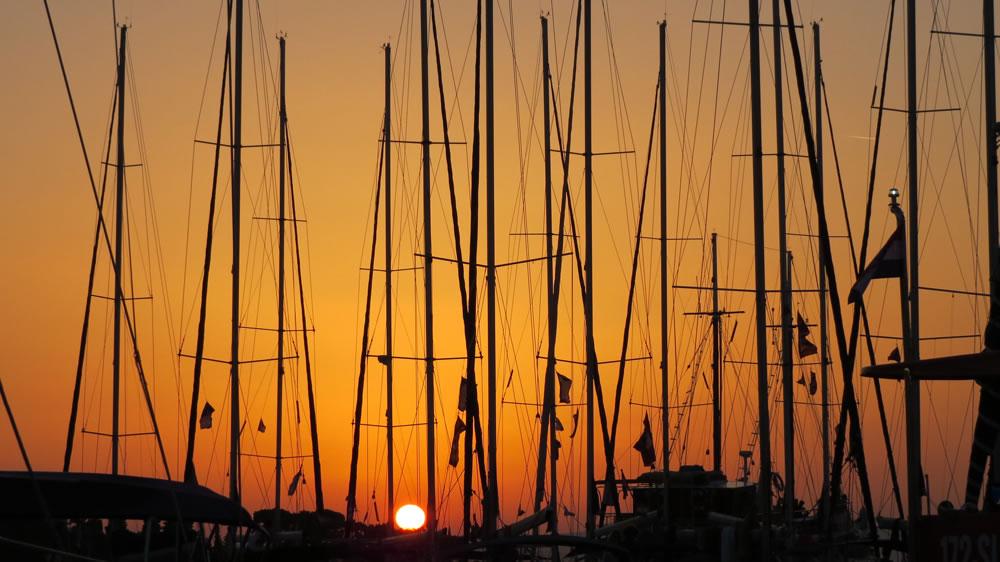Sunset-Brač